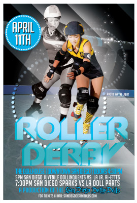 Sparks vs Los Angeles Doll Parts 04/11/2015