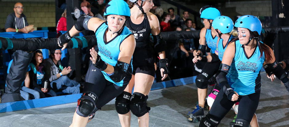 Experience Live Roller Derby