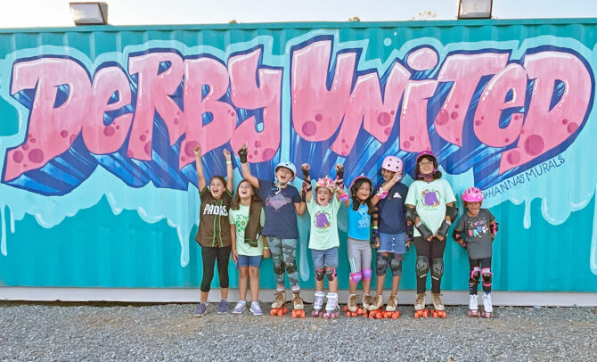 Girl Scout Troop at Derby United