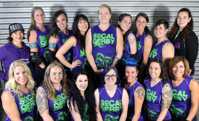 SoCal Derby Kraken Team Photo