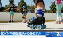 Pandemic Roller Skating News Story